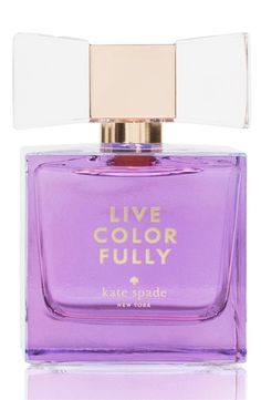 This rich, deeper, seasonal edition of live colorfully by Kate Spade will surprise and delight with its charming sophistication.