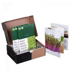 Heimgart ist ein speziell auf die Anzucht von Microgreens abgestimmtes Indoor Farming System. Bereits nach wenigen Tagen die ersten Blättchen. Jetzt testen!
