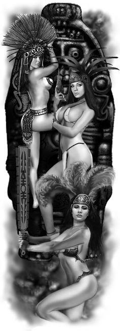 Aztec Godesses