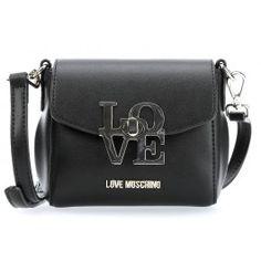 wardow.com - #bag #trend #blackandwhite #loveMoschino Love-Lock Schultertasche schwarz