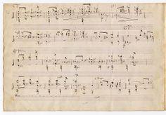 Original Chopin manuscript