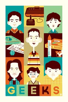 Geeks from Freaks and Geeks by Dave Perillo, from Gallery 1988