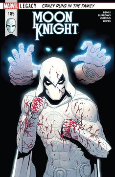 Browse the Marvel Comics issue Moon Knight Learn where to read it, and check out the comic's cover art, variants, writers, & more! Marvel Dc, Marvel Comics, Marvel Heroes, Anime Comics, Comic Manga, Comic Book Characters, Marvel Characters, Comic Books Art, Marvel Universe