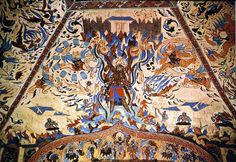 Dunhuang Ceiling Cave Western Wei Dynasty 450AD