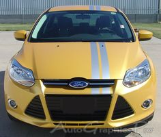 2005 2018 Ford Focus Rally Roll Euro Style Racing Stripes Universal Fit Vinyl Decal Graphic