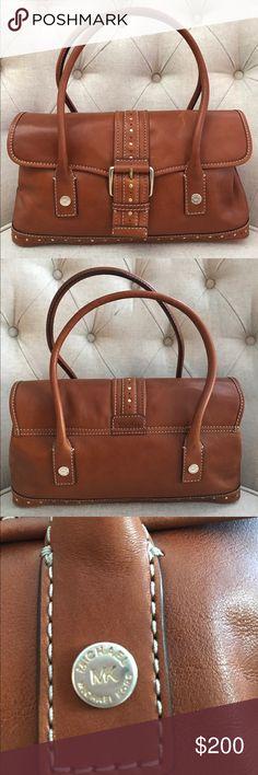 Vintage Michael Kors Leather Purse Vintage style Michael Kors Brown Leather Satchel. NWOT. Never used. Reasonable offers accepted! Michael Kors Bags Satchels