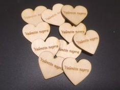 Szív kicsi 'Valentin napra' 10 db/csomag, 4 cm széles 3,5 cm magas Music Instruments, Musical Instruments
