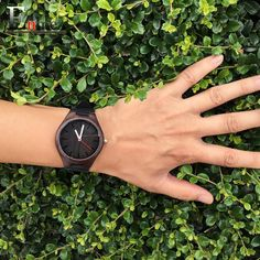 2016 festival Memorial Day gift Enmex dark colour Bamboo wristwatch work of art handmade natural wood quartz watches Oh Yeah  #shop #beauty #Woman's fashion #Products #Watch