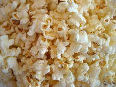 Dig microwave popcorn! Yummy