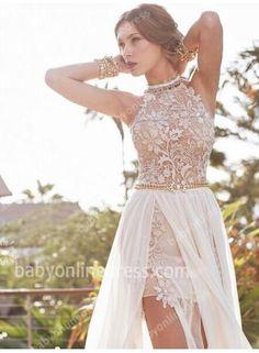 Sexy and elegant Boho Beach Wedding Dress 19d63f086b