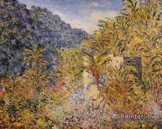 Claude Monet The Valley Of Sasso oil painting reproductions for sale