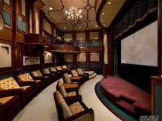 Two story home theater †