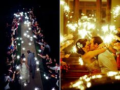 Sparkler exits are a popular wedding send off idea! Enjoy our top quality wedding sparklers promotion with FREE wedding sparkler tags! Sparklers on sale! Wedding Send Off, Wedding Exits, Wedding Tags, July Wedding, Wedding Venues, Dream Wedding, Wedding Ideas, Wedding Reception, Monsieur Madame