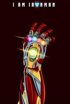 Iron Man - Iron Infinity Gauntlet, Avengers: End Game - MCU / Marvel - Marvel Marvel Avengers, Ms Marvel, Mundo Marvel, Iron Man Avengers, Marvel Funny, Marvel Art, Marvel Dc Comics, Marvel Movies, All Marvel Heroes