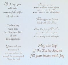 Handmade Easter Card using Stampin Up Renewed Faith Stamp Set Easter Card Sayings, Easter Verses, Easter Messages, Easter Quotes, Easter Cards Religious, Greeting Card Sentiments, Verses For Cards, Creative Cards, Cute Cards