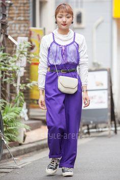 Ck Calvin Klein, Tokyo Street Style, Street Snap, Japanese Street Fashion, Fashion News, Harajuku, Overalls, Converse, Pants