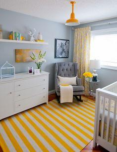 Baby Nursery : White Drawer White Glass Window Grey Sofa Bed Drum Shape White…