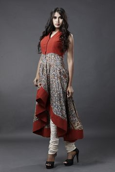 kalamkari dress by sagar tenali