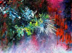 Led Zeppelin – Since I've Been Loving You. Atteinte de synesthésie elle peut voir la musique Elle a décidé de peindre ce quelle entend