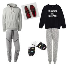 """""""Lazy Day In With Your Partner, Jack Maynard"""" by caspar-lee-is-bae-1999 on Polyvore featuring J.Lindeberg, Leisureland, Lands' End and American Eagle Outfitters"""