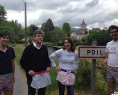 Deux ex-ministres à Poil pour soutenir les caleçons Au Poil (Le Journal de Saône-et-Loire)