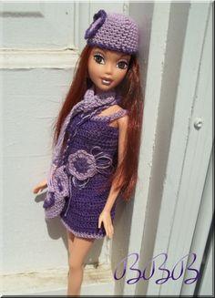 Crochet Barbie Clothes and Accessories by BarbieBoutiqueBasics