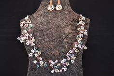 Collier Set - Lilac Dreams von DrahtundPearls auf Etsy