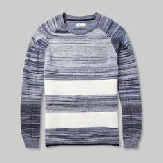 Today there are more than 100 items new to MR PORTER, including this striped sweater by Folk. SHOP latest arrivals at: http://mr-p.co/QzDzLK...