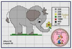 Cross Stitching, Cross Stitch Embroidery, Cross Stitch Patterns, Cute Cross Stitch, Cross Stitch Animals, Plastic Canvas Tissue Boxes, Plastic Canvas Patterns, Baby Girl Room Decor, Wood Animal