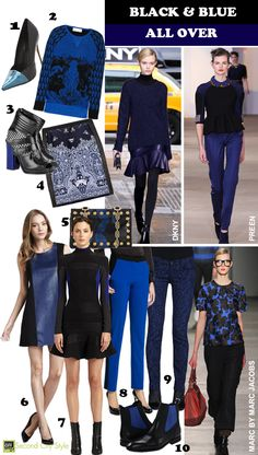 Trend Fall '12: Black and Blue All Over