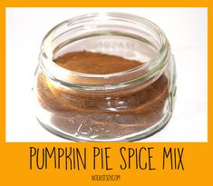 This super simple, easy recipe makes for a delicious pumpkin pie, or adds a bit of festive flavour to any other baked goods! It only takes 5 minutes to make, and is a delicious way to add a little spice to any recipe, whether it … Pumpkin Pie Spice, Spice Mixes, My Recipes, Vegan Vegetarian, Baked Goods, Peanut Butter, Easy Meals, Spices, Baking