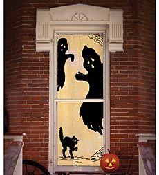 Trunk--or-Treat craft idea? - indoor/outdoor-ghost-scenic-panel-halloween-decoration