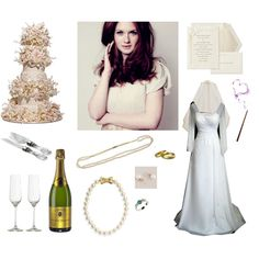 """""""Ginny Weasley the Bride"""" by tigressofindia on Polyvore"""