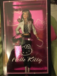 Barbie Hello Kitty Fashion Doll 2007 All Accessories Are Attached Barbie Dolls For Sale, Barbie I, Barbie And Ken, Barbie Stuff, American Girl Furniture, Barbie Doll Accessories, Vintage Barbie Clothes, Hello Kitty Collection, Barbie Fashionista
