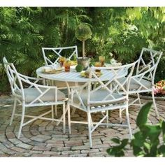 Caicos French Linen 5 Piece Dining Patio Set DISCONTINUED 0482400460 at The  HomeHarrison Matching Folding Padded Sling Chaise   Sears  57  . Sears Chaise Lounge Chairs Patio Furniture. Home Design Ideas