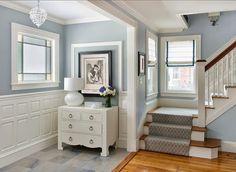 Da Passarela Para Sua Decoração! Blue Gray Paint ColorsBold ColorsBluish  Gray PaintInterior ...