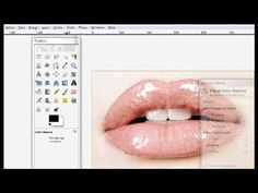 GIMP Tutorial- Changing Lip Color - YouTube using color balance