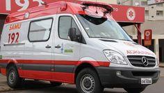 Prado: Governo manda nova ambulância para o SAMU