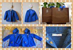 Entre puntos y puntadas: Chaquetas para unas mellizas Stitching, So Done, Jackets