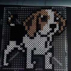 Beagle perler beads by veriiss92