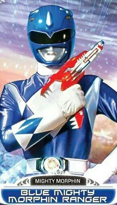 Blue Mighty Morphin Power Ranger