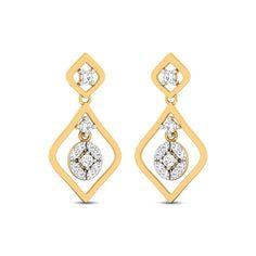 Aarabhi Diamond Studded Gold Earrings