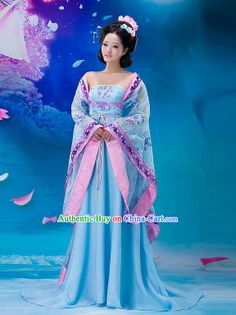 Traditional Chinese Tang Dynasty Women Garment Complete Set rental set traditional buy purchase on sale shop supplies supply sets equipemnt equipments Traditional Chinese, Traditional Dresses, Beautiful Outfits, Beautiful Clothes, Wedding Costumes, Hanfu, China Fashion, Japanese Fashion, Missouri Mo