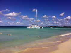 Catamaran cruise in Negril Jamaica