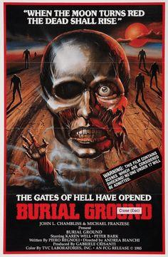 9 Carteles del cine de terror de los 80 | OLDSKULL