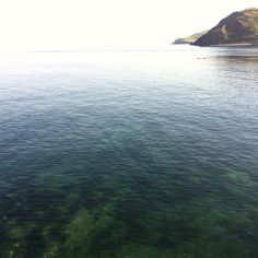 Early summer morning. Aberystwyth. Photograph.