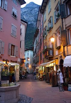 Riva del Garda, Lake Garda, Italy. a visit to the lakes of northern italy is a must-stop.