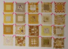 Moodboard for the squares, My yellow blanket