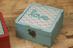 Caixa Love Azul | A Loja do Gato Preto | #alojadogatopreto | #shoponline