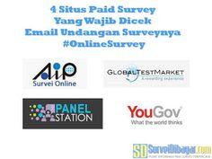 4 Situs Paid Survey Yang Wajib Dicek Email Undangan Surveynya | SurveiDibayar.com